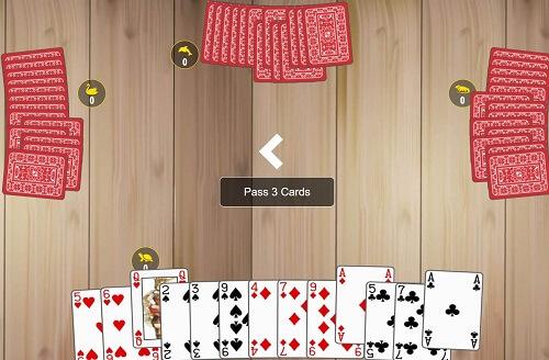 Passer des cartes