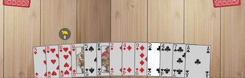 le joueur possédant le 2 de Trèfle ouvre le jeu